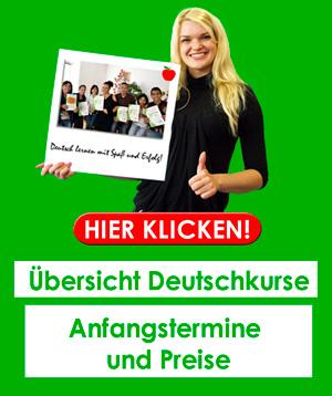 Unsere Deutschkurse in Hamburg