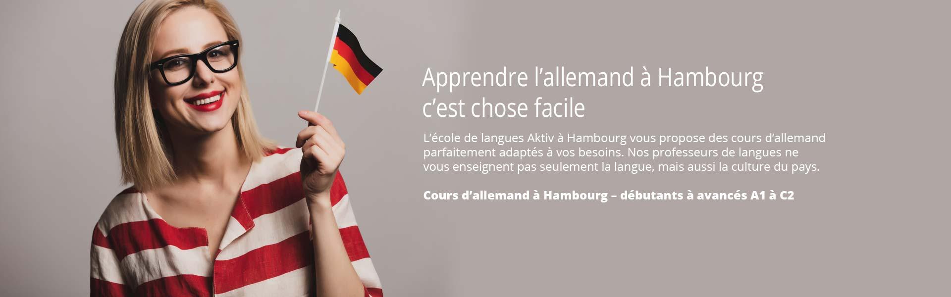 Apprendre l'allemand à Hambourg c'est chose facile