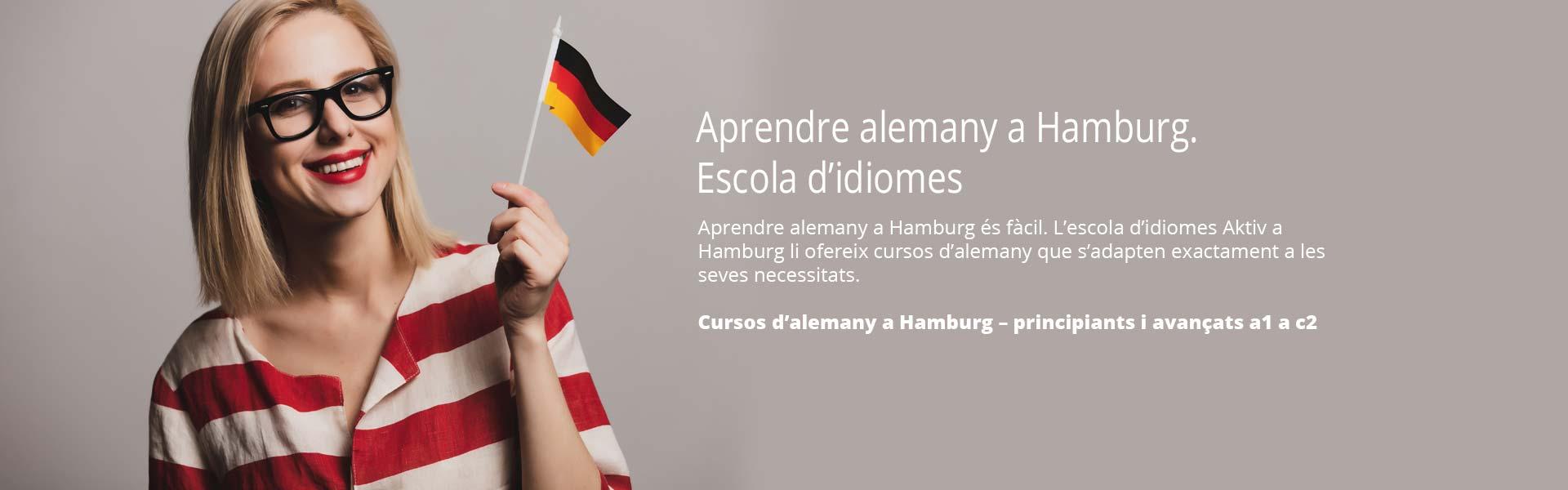 Aprendre alemany a Hamburg. Escola d'idiomes