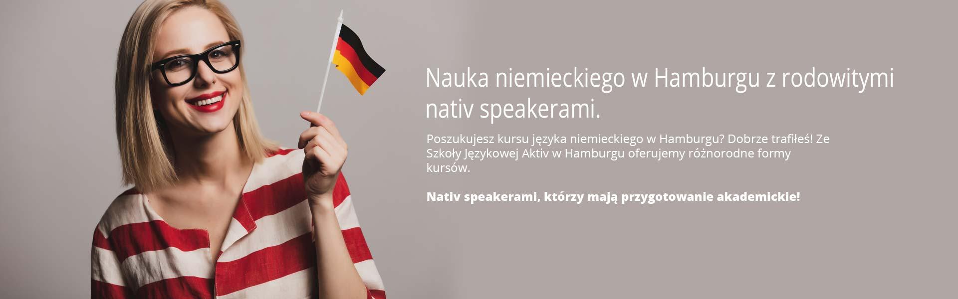 Nauka niemieckiego w Hamburgu z rodowitymi nativ speakerami.