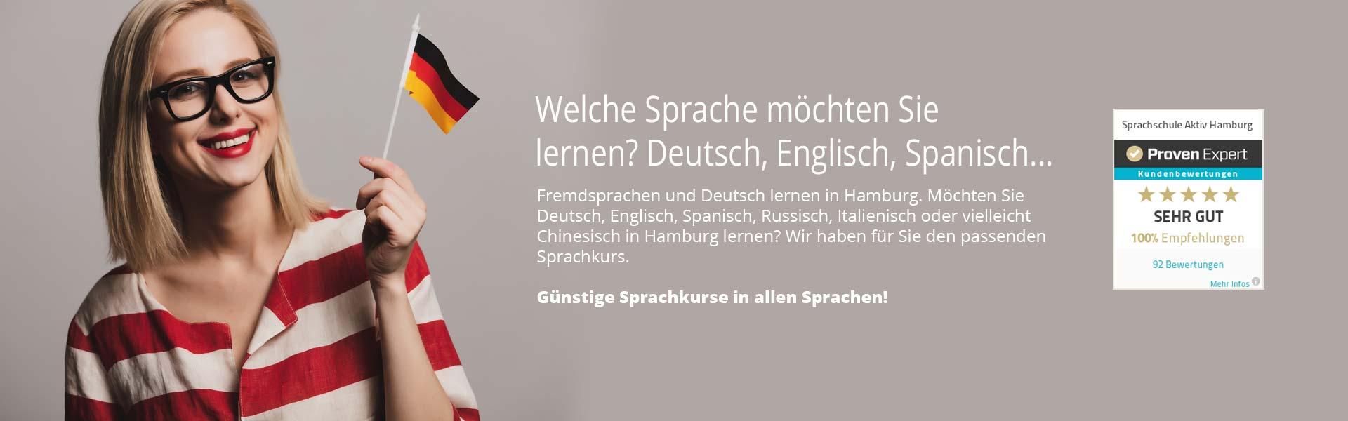 Sprachen lernen in Hamburg