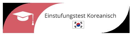 Einstufungstest in Hamburg für Koreanisch